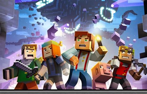minecraft story mode new minecraft story mode trailer released video