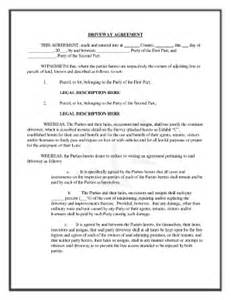 easement template best photos of joint agreement forms sle joint