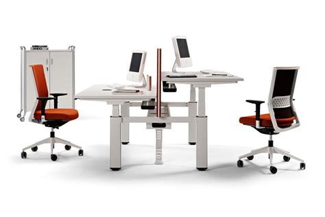 Office Desk Elevation Height Adjustable Desks Electric Elevation