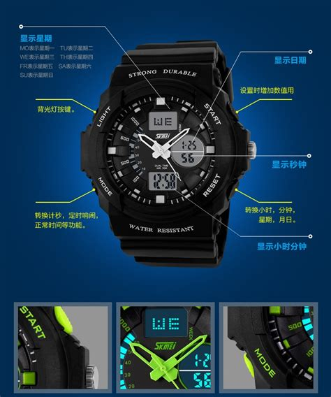 Skmei Ad0966 Jam Tangan Pria Sporty Original Water Resistant Putih skmei jam tangan analog digital pria ad0955 green jakartanotebook