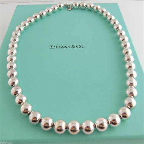 the bead company bead necklace in sterling silver and co