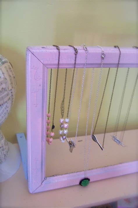 diy jewelry display for craft shows from the factory diy craft show display tutorial 3 vintage frame necklace stand