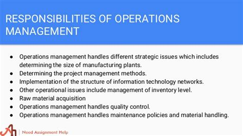 Mba In Operations Management From Ignou by Management Assignment Help