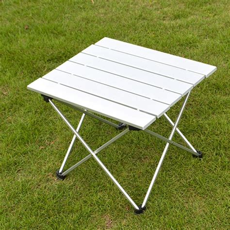 roll up portable table 56 x40 5 x 40cm outdoor aluminum folding table portable