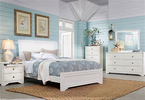 belcourt white 5 pc king sleigh bedroom contemporary