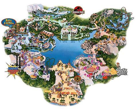 islands of adventure map island of adventure universal island of adventure