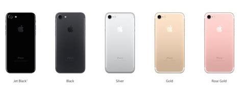 7 iphone colors how many colors is the iphone 7 iphone 7 plus