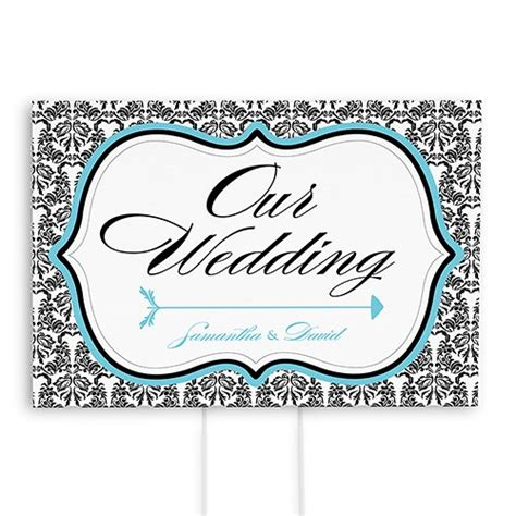 printable wedding road signs love bird damask wedding directional sign confetti co uk