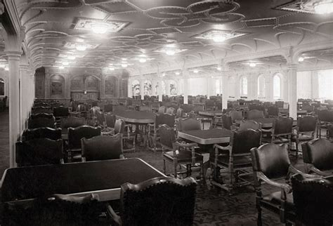 Titanic Dining Room by Worldimage4u Passengers And Possessions Of Titanic