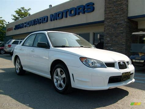 subaru sedan white 2006 subaru impreza 2 5i related infomation specifications