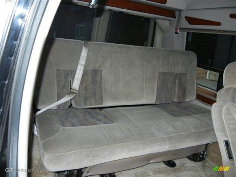 chevy express seats 1999 chevrolet express 1500 passenger conversion rear