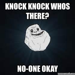Lonely Meme - forever alone meme