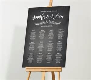 Floor Easel by Wedding Seating Chart Template Editable Pdf Diy Rustic