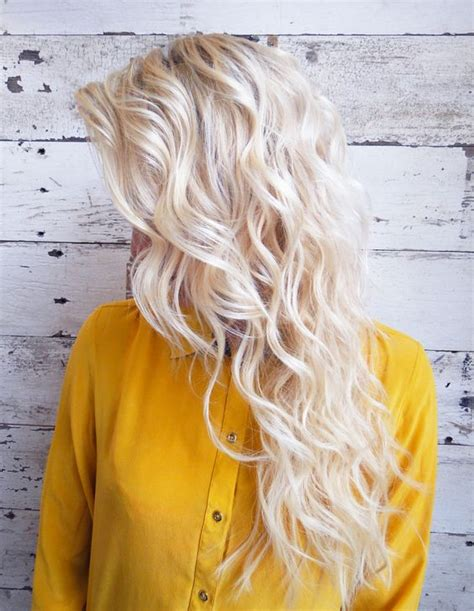 beach wave perm for ocean vacation 35 perm hairstyles stunning perm looks peinado de trenza