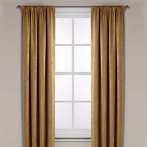 caramel curtains diamond texture rod pocket room darkening window curtain