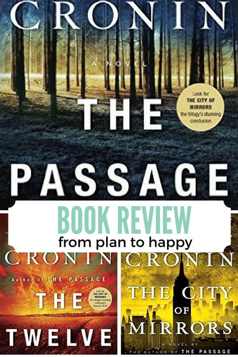 the the passage series volume 1 books plan to happy the passage trilogy by justin cronin book