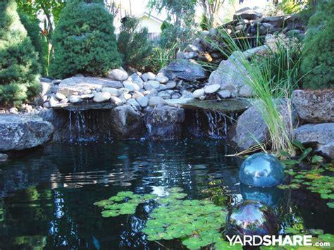 large backyard ponds landscaping ideas gt backyard pond area yardshare