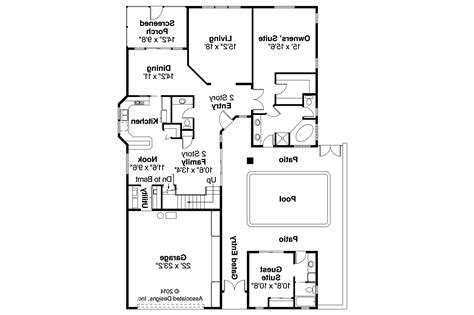mediterranean house floor plans mediterranean house plans coronado 11 029 associated designs