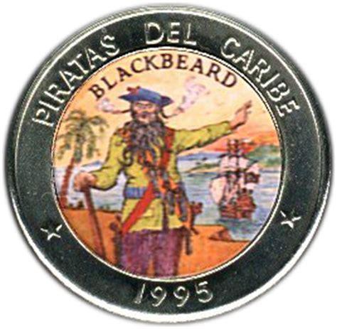 Blackbeard Coat Of Arms 1 peso blackbeard cuba numista