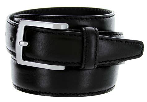 5549 35 s italian leather dress casual belt 1 3 8