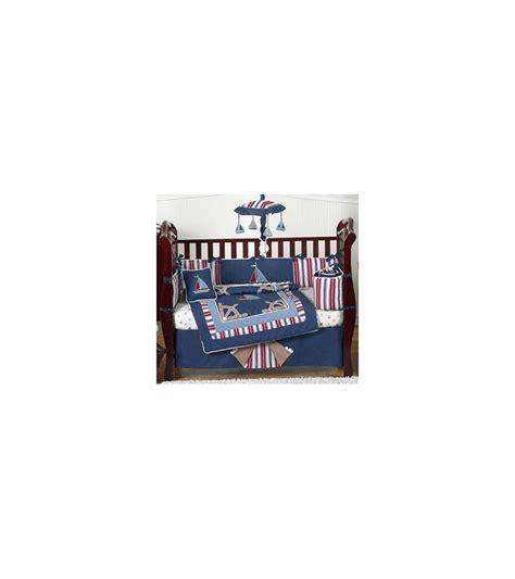 nautical crib bedding sets sweet jojo designs nautical nights 9 piece crib bedding set