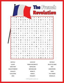free printable word searches in french french revolution word search puzzle word search