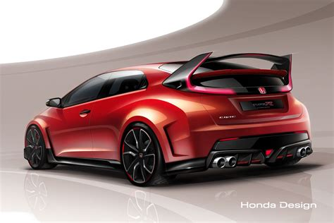future honda civic honda civic type r concept what to expect photo image