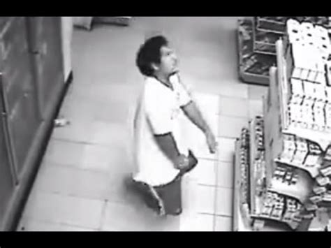 man possessed by ghost on cctv must watch youtube