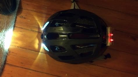 Bike Helmet Lights by Build Your Own Rechargeable Bike Helmet Light