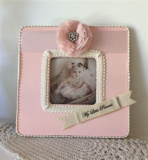 girl frame baby girl picture frame baby girl photo frame personalized