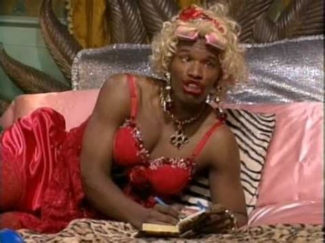 foxx living color foxx s on quot in living color quot as wanda in