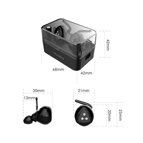 Headset Bluetooth Sports 41 Earphones L211bl Bass newest syllable d900 mini bluetooth 4 1 earphone noise
