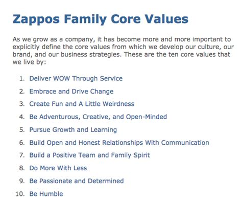Defining Your Company S Core Values Company Culture Template