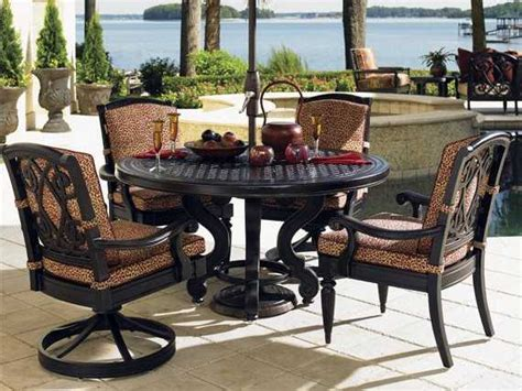 bahama outdoor dining set bahama outdoor kingstown sedona cast aluminum dining