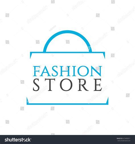 fashion store logo vector template stock vector 673400311
