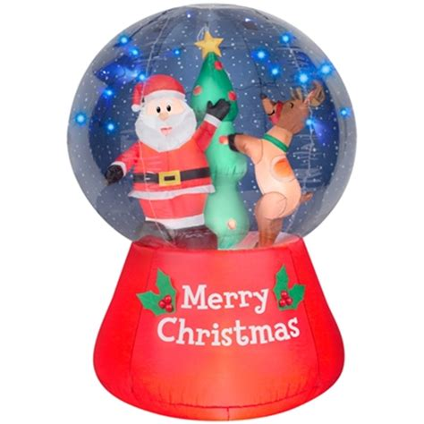 airblown inflatable snowglobe