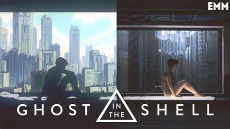 film vs anime ghost in the shell movie vs anime youtube