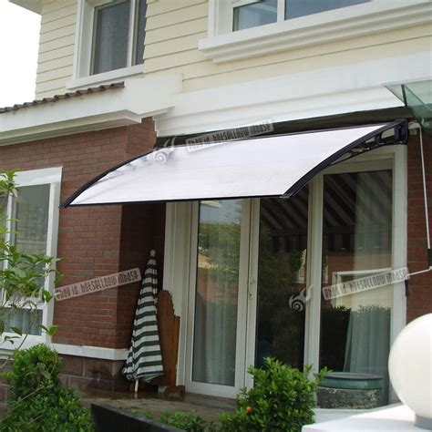 back porch awning door canopy awning window rain cover protector shelter