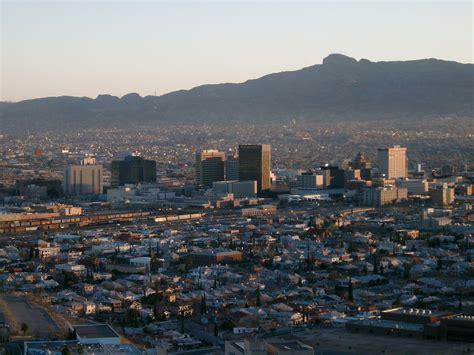 El Paso Records File El Paso Scenic Drive Jpg Wikimedia Commons