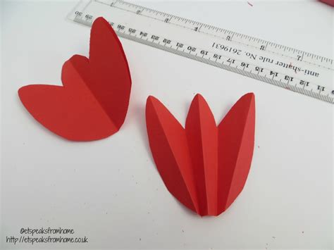 tulip s day card template 3d tulip flower day card et speaks from home