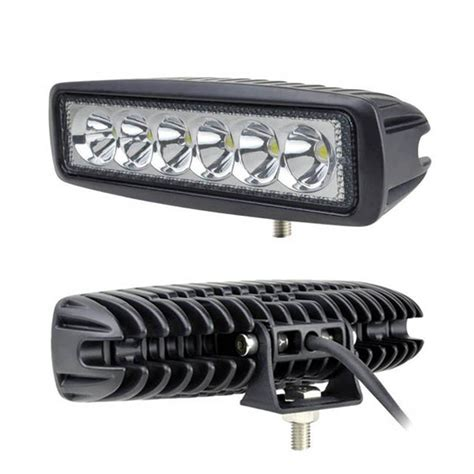 mini led truck lights 6inch 18w mini led bar 12v 4x4 led day time running lights