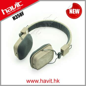 Havit Headset Hv H56d Brown havit earphone headphone headset comfortable fluffy