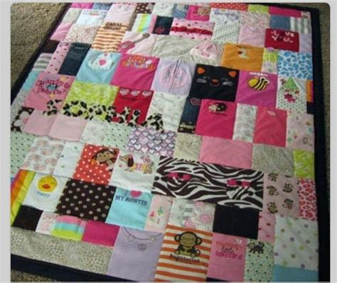 How To Make Quilt Out Of Baby Clothes by Memory Quilt Out Of Baby Clothes Crafts