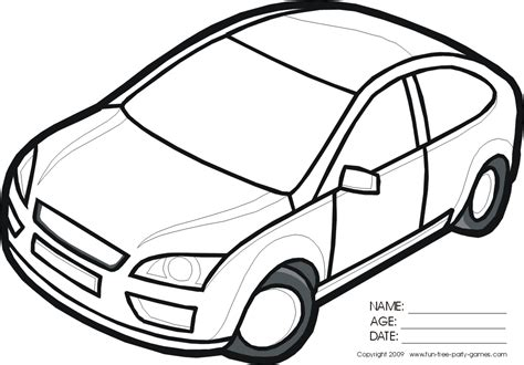 coloring pictures of cars for toddlers car pictures for az coloring pages