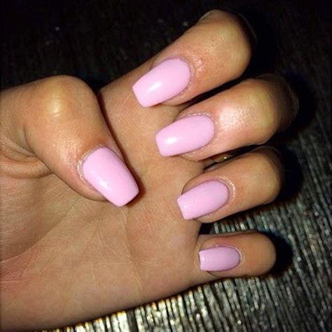 Light Pink Acrylic Nails by Light Pink Acrylic Nails Nail And Design