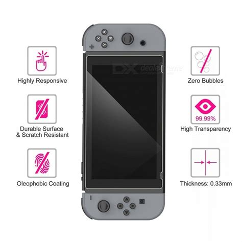Lcd Screen Protector For Nintendo Switch gamewill tempered glass screen protectors for nintendo