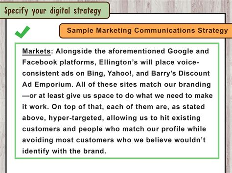 how to write a communications strategy template marketing communications plan template and simple