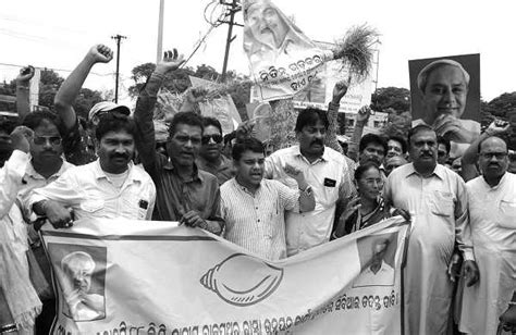 Youth Activism Essay by Bjd Youth Activists Burn Nitin Gadkari S Effigy The New Indian Express
