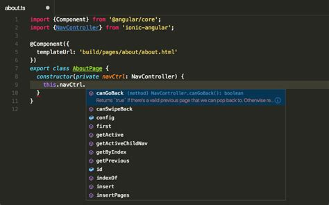 ionic tutorial on visual studio why i use visual studio code for developing ionic 2 apps