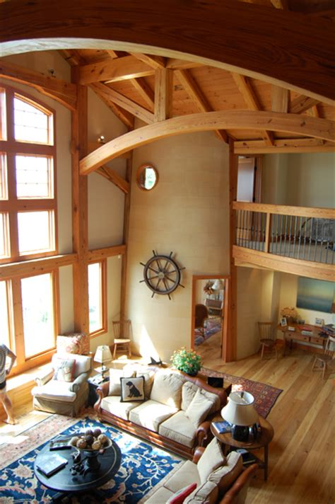lighthouse home timber frame case study